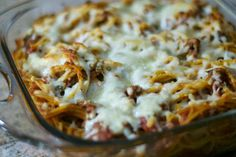 Baked Spaghetti from @365 Days of Baking ~ Lynne Feifer