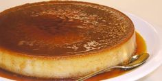 Cardamom Creme Caramel