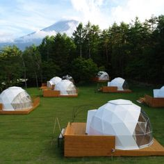 glamping dome campsite vikingdome – Jill The Nomad – Join in the world of pin Bell Tent Camping, Camping Glamping, Campsite, Garden Igloo, Bubble Tent, Dome Structure, Geodesic Dome Homes, Shower Tent, Dome Tent