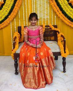 Woman Clothing, Designer Clothing, Kids Clothing, Designer Dresses, Clothes For Women, Kids Lehanga Design, Lehanga For Kids, Lehenga Blouse, Anarkali Dress