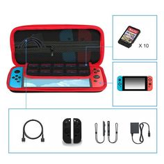 Storage Case Cover for Nintendo Game Pouch Protective Waterproof Travel Case Bag #Ametoys
