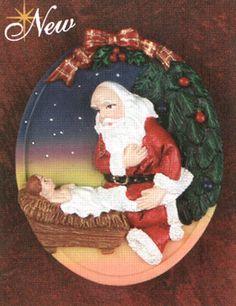 The Kneeling Santa