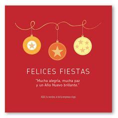 Tres Esferas ::  tarjetas para navidad y fin de año