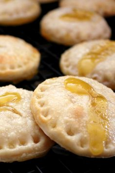 Summery lemonade pie cookies made with lemon curd and refrigerated pie crusts!
