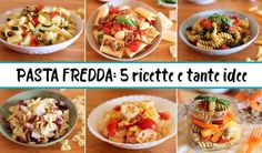 10 PIATTI FREDDI PERFETTI PER L'ESTATE | Fatto in casa da Benedetta Biscotti, Cookies Policy, Pasta Recipes, Buffet, Pasta Salad, Italian Recipes, Food And Drink, Chicken, Cooking