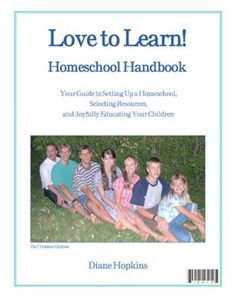 Great handbook for beginning to homeschool, great website for homeschool curriculum and inspiration.