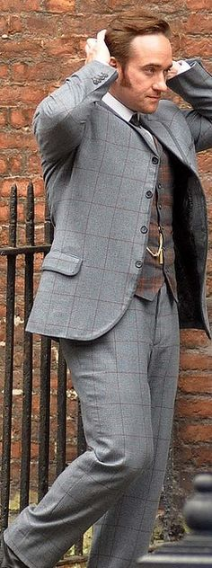 """Edmund Reid in """"Ripper Street"""". Yes, you are gorgeous Matthew."""