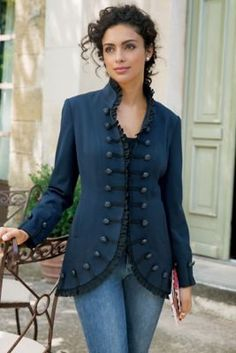 Petites - For the best in petite women's clothing with comfort & luxury, look no further than Soft Surroundings. Shop the entire women's petite clothing collection! Coats For Women, Jackets For Women, Clothes For Women, Dress Outfits, Fashion Outfits, Dresses, Fashion Coat, Abaya Fashion, Fashion Fall