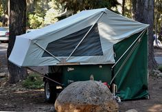 explorer box mobile diy tent camper easy set up 03   DIY Tent Campers You Can Build on a Tiny Trailer