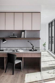 Home Room Design, Home Office Design, Home Office Decor, House Design, Australian Interior Design, Interior Design Awards, Study Interior Design, Home Decor Furniture, Furniture Design