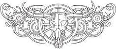 Western Steampunk - Steer Skull_image