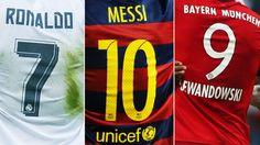 Die torgefährlichsten Nummern des Weltfußballs: Trotz all des Zahlensalats hat sich an der klassischen Zuordnung kaum etwas geändert.