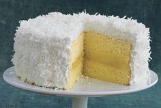 Fresh Lemon-Coconut Cake  - Delish.com