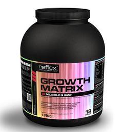 REFLEX GROWTH MATRIX 1.8KG OUR PRICE: £32.95 #protein #supplements #bodybuilding