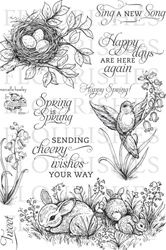 Flourishes - Spring has Sprung Stamp Set