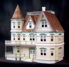 Queen Anne Dollhouse Kit.   This is the house that I am currently working on:)  http://www.dollhousedreams.com/real-good-toys-queen-anne-dollhouse-kit/