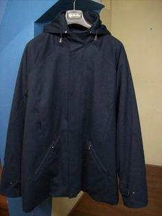 Loro Piana Storm System Coat Cashmere Navy Blue Jacket Hooded size XXXL $1,995.50 Free Shipping! Home Goods Clothing http://www.islandheat.com for Great Gift Idea's.