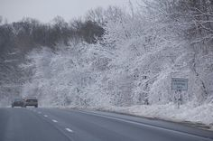 What a ride into work. This was on March 1, 2011 on I-83 in Baltimore County, MD