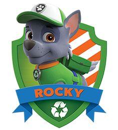 Paw Patrol Rocky, Paw Patrol Png, Paw Patrol Badge, Paw Patrol Party, Paw Patrol Birthday, Insignia De Paw Patrol, Perros Paw Patrol, Escudo Paw Patrol, Personajes Paw Patrol