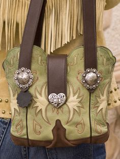 Cowboy Boot Purse. They will make your boots into a purse.  Cool!  westtexastotes.com