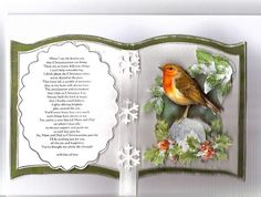 Bookatrix_Robin_by_snoflakeUK by snoflakeUK - Cards and Paper Crafts at Splitcoaststampers