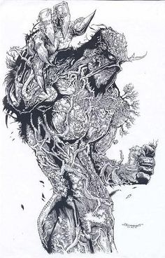 Swamp Thing by olybear #swampthing #dccomics #comic