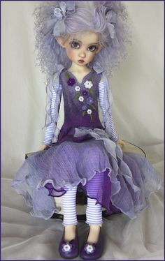 Kaye Wiggs Annabella Elf - a doll I could actually like!