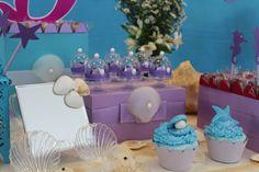 Decoração festa Sereia Mermaid party Decor