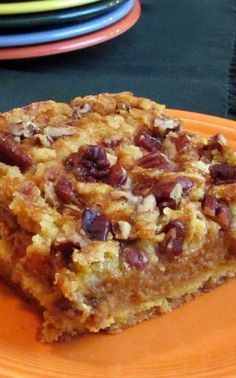 Recipe for Better Than Pumpkin Dump Cake - This pumpkin dessert is so good that everyone will be begging for the recipe, just like I did when I first tried it.
