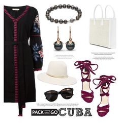 """Pack and Go: Cuba!"" by pearlparadise ❤ liked on Polyvore featuring Tory Burch, Steve Madden, StyleNanda, Janessa Leone, Max&Co., contestentry, Packandgo, pearljewelry and pearlparadise"