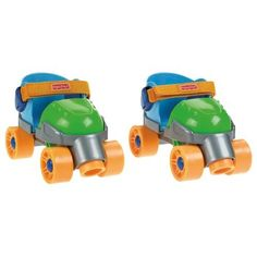 Fisher-Price Grow-with-Me 1,2,3 Roller Skates