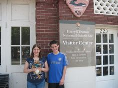 The home of Harry S Truman, 33rd president of the United States, is located in Missouri. Ollie visited with the Jorgensons.