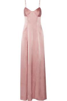 Michelle Mason | Silk-blend satin gown | NET-A-PORTER.COM