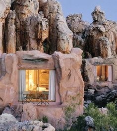 Enjoy the scenic beauty and romantic allure of one of South Africa's most luxurious resorts, Kagga Kamma Private Game Reserve. - this is in SOUTH AFRICA? Dream Vacations, Vacation Spots, Vacation Travel, Family Travel, Hotel Europa, Places To Travel, Places To See, Travel Destinations, Places Around The World