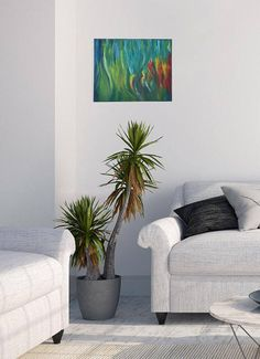 Original Oil Painting 20 X 16 Painting Abstract Painting · Abstrakte Malerei