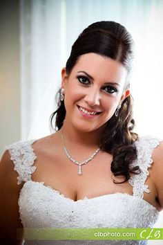 Hair and makeup by Michelle Surgent of #pinkcomb #weddinghair #hair #updo #