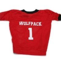 Personalized North Carolina State Wolfpack College Dog Jersey