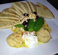 Give your lunch or dinner meal a good start with #ChezGaston's #Mediterranean platter! #GrandBeachHotel  http://www.miamihotelgrandbeach.com/chez-gaston/