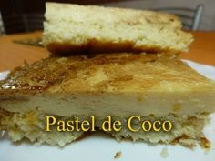 Pastel de Coco (Receta fácil)