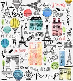 Margaret Berg Art: Paris Je T'aime