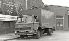 Royal Mail Leyland Terrier OTW outside Luton railway station parcels office in May Pentax Ilford rated @ 200 ASA Classic Cars British, Classic Trucks, General Post Office, Old Lorries, Van Car, Commercial Vehicle, Royal Mail, Cool Trucks, Transportation
