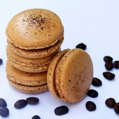 Cuparoons: Coffee Macarons + (Coffee & Cookbook Give-Away)