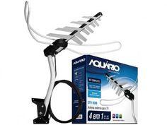 Antena Digital/Analógica Aquário Externa - DTV-3000 com as melhores condições você encontra no Magazine Sualojaverde. Confira!