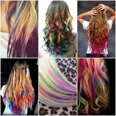 absolute only time i wish i were blonde is to be able to do this to my hair