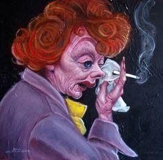 Lucille Ball (by Paul Alexander)