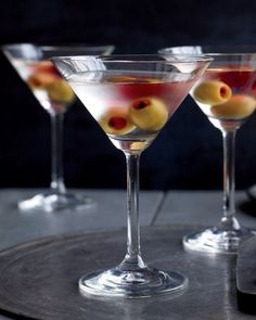 Turn a classic martini into a Halloween specialty with this spooky trick.