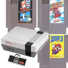 NES System Mario 123 Bundle Pak | DKOldies.