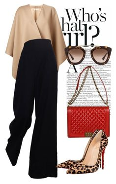 """""""batik cirebon #indonesian_heritage"""" by omahtawon ❤ liked on Polyvore featuring Burberry, Chanel, Prada and Christian Louboutin"""