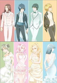 NaruHina, SasuSaku, SaiIno and NejiTen