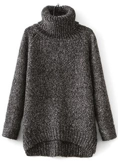 All I need is this sweater and a cozy fire.
